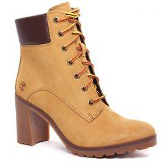 bottines-a-lacets jaune: même style de chaussures en ligne pour femmes que les Rieker