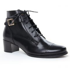 bottines-a-lacets noir: même style de chaussures en ligne pour femmes que les Marco Tozzi