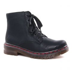 Rieker 76240-00 Noir : chaussures dans la même tendance femme (bottines-a-lacets noir) et disponibles à la vente en ligne