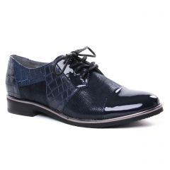 derbys bleu marine: même style de chaussures en ligne pour femmes que les Tamaris