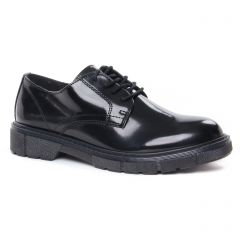Chaussures femme hiver 2020 - derbys marco tozzi noir
