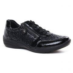 Chaussures femme hiver 2020 - derbys Remonte noir