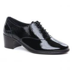 Chaussures femme hiver 2020 - derbys talon Scarlatine noir