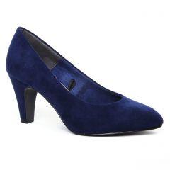 Chaussures femme hiver 2020 - escarpins tamaris bleu marine
