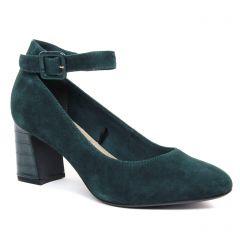 escarpins-brides vert foncé: même style de chaussures en ligne pour femmes que les Marco Tozzi