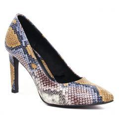 escarpins python multi: même style de chaussures en ligne pour femmes que les Marco Tozzi