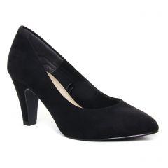 Chaussures femme hiver 2020 - escarpins tamaris noir velours