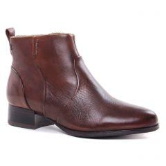 low-boots marron: même style de chaussures en ligne pour femmes que les Tamaris