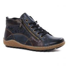 low-boots bleu marine: même style de chaussures en ligne pour femmes que les Remonte