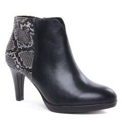 low-boots noir: même style de chaussures en ligne pour femmes que les Tamaris