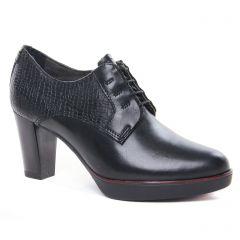 Tamaris 23309 Black Struct : chaussures dans la même tendance femme (derbys-talon noir) et disponibles à la vente en ligne