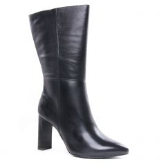 Chaussures femme hiver 2020 - mi-bottes tamaris noir