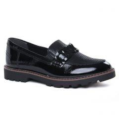 mocassins-confort noir: même style de chaussures en ligne pour femmes que les Rieker