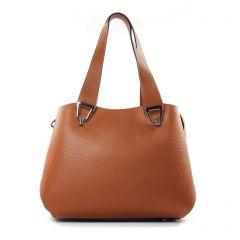 sacs-a-main marron cognac: même style de chaussures en ligne pour femmes que les Frederic T