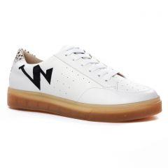 tennis blanc noir: même style de chaussures en ligne pour femmes que les Remonte