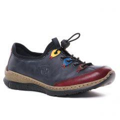 tennis bleu marine: même style de chaussures en ligne pour femmes que les Vanessa Wu