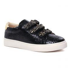 tennis noir or: même style de chaussures en ligne pour femmes que les Méliné