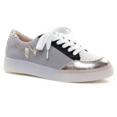 Chaussures femme hiver 2020 - tennis Vanessa Wu gris or