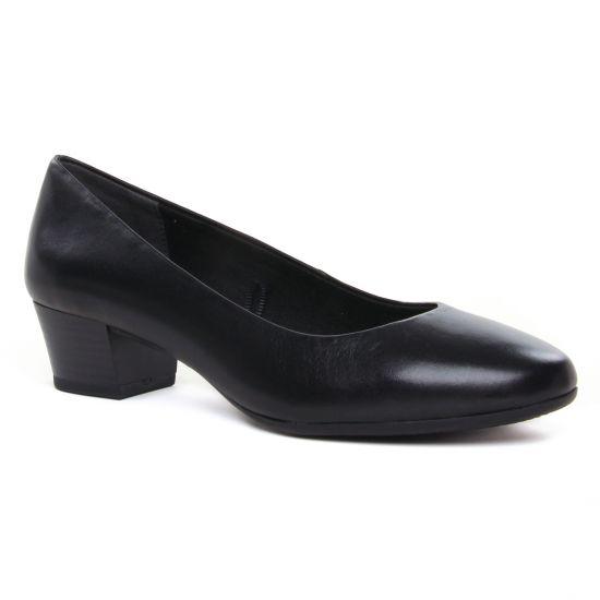 Ballerines Marco Tozzi 22306 Black Antic, vue principale de la chaussure femme