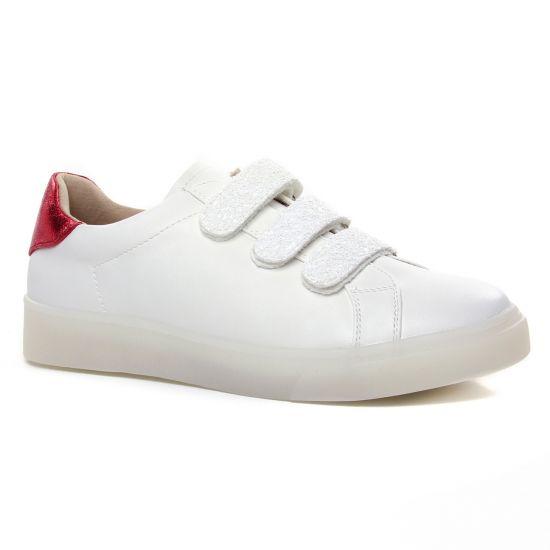 Tennis Et Baskets Mode Vanessa Wu Bk 2142 Blanc, vue principale de la chaussure femme