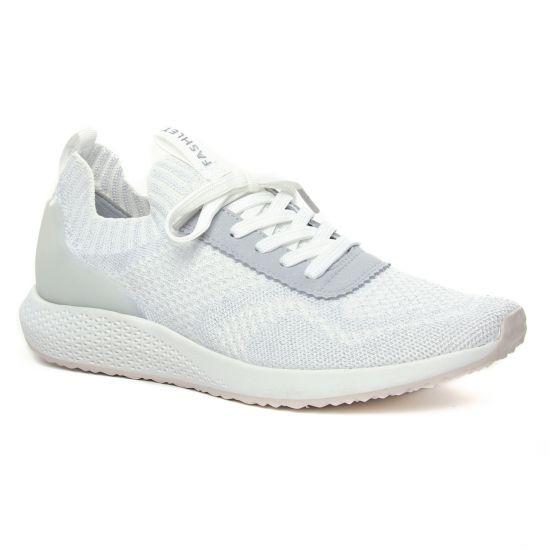 Tennis Et Baskets Mode Tamaris 23714 Silver Grey, vue principale de la chaussure femme