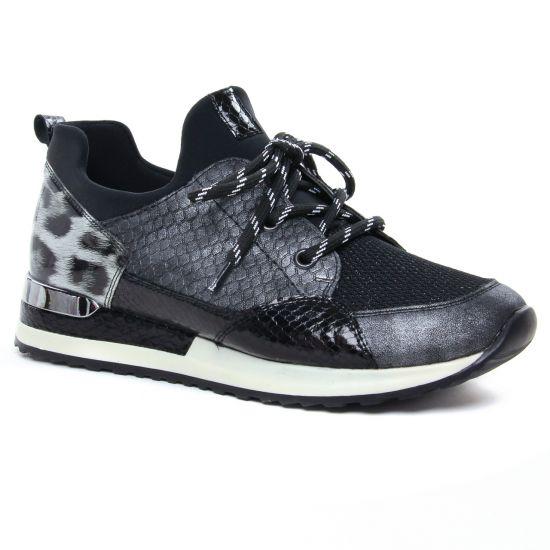 Tennis Et Baskets Mode Remonte R2503-45 Graphite, vue principale de la chaussure femme