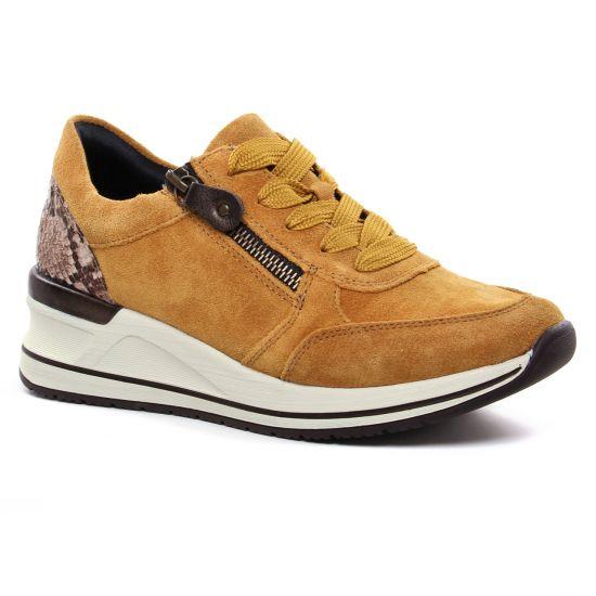 Tennis Et Baskets Mode Remonte D3204-68 Mais, vue principale de la chaussure femme