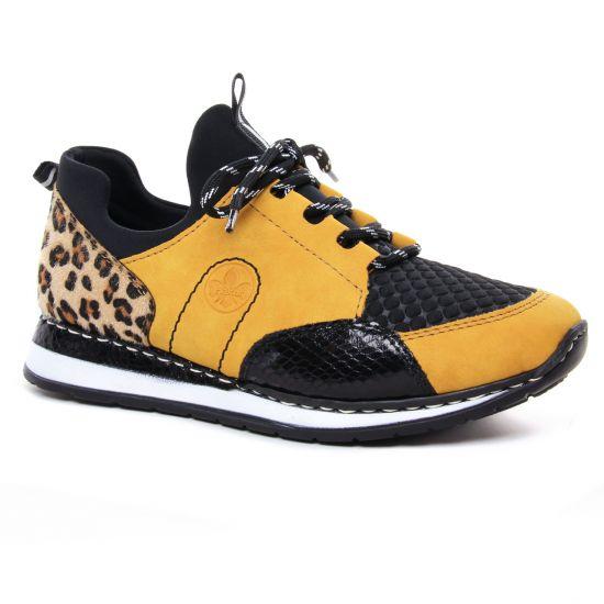 Tennis Et Baskets Mode Rieker N3083-68 Honing, vue principale de la chaussure femme