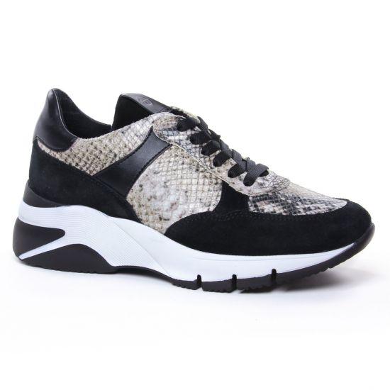 Tennis Et Baskets Mode Tamaris 23782 Black Snake, vue principale de la chaussure femme
