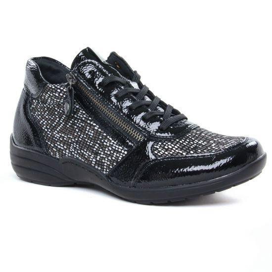 Tennis Et Baskets Mode Remonte R7676-02 Black, vue principale de la chaussure femme