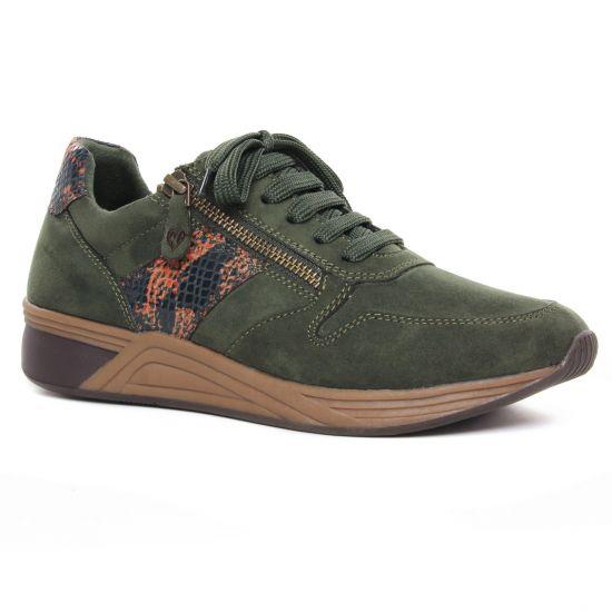 Tennis Et Baskets Mode Marco Tozzi 23774 Kaki (Vegan), vue principale de la chaussure femme