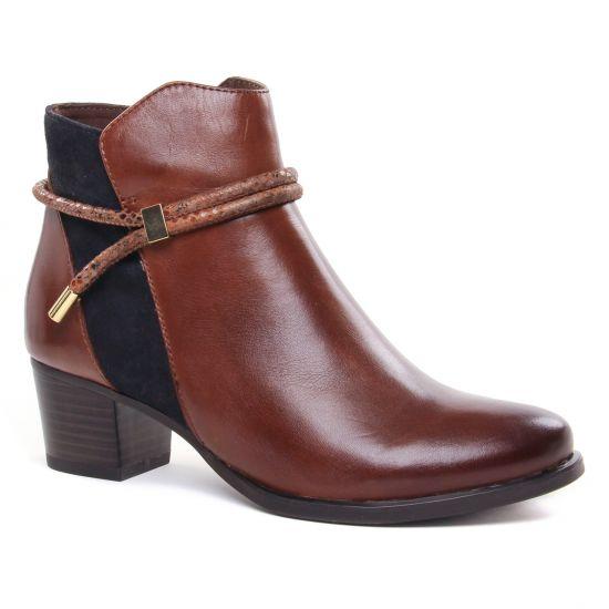 Bottines Et Boots Caprice 25307 Cognac Ocean, vue principale de la chaussure femme