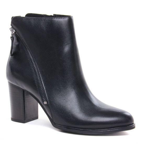 Bottines Et Boots Caprice 25344 Black Nappa, vue principale de la chaussure femme