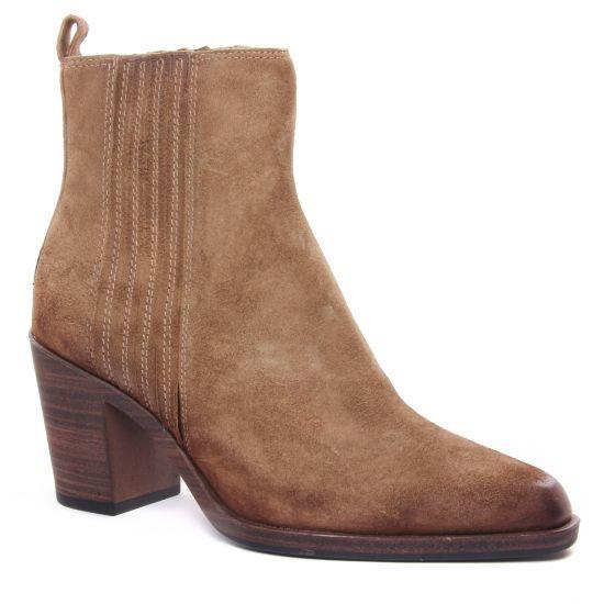 Bottines Et Boots Tamaris 25314 Taupe, vue principale de la chaussure femme