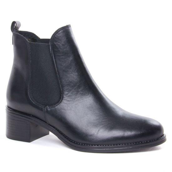 Bottines Et Boots Scarlatine 99120 B Noir, vue principale de la chaussure femme