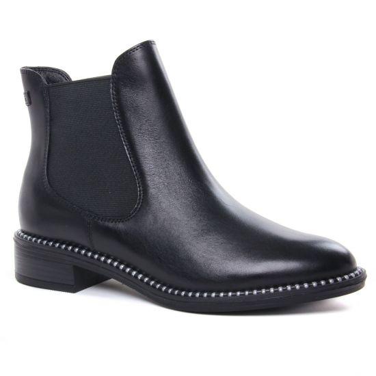 Bottines Et Boots Tamaris 25042 Black Pearl, vue principale de la chaussure femme
