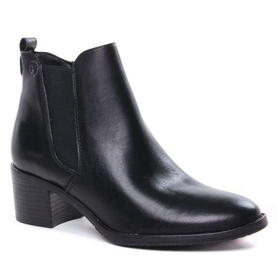 Bottines Et Boots Tamaris 25043 Black, vue principale de la chaussure femme