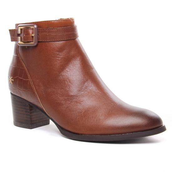 Bottines Et Boots Mamzelle Torpa Cognac, vue principale de la chaussure femme