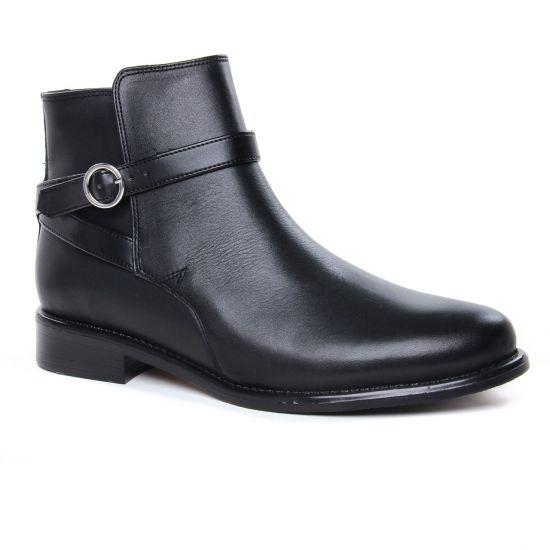 Bottines Et Boots Scarlatine 99327 A Noir, vue principale de la chaussure femme