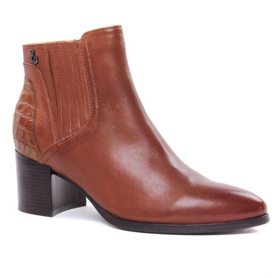 Bottines Et Boots Regarde Le Ciel Taylor-15 Cognac, vue principale de la chaussure femme