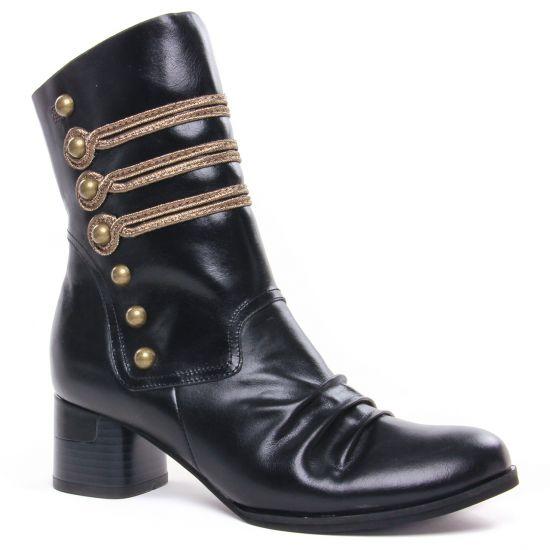 Bottines Et Boots Mamzelle Musco Noir, vue principale de la chaussure femme