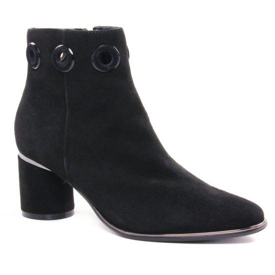 Bottines Et Boots Regarde Le Ciel Irene-13 Black, vue principale de la chaussure femme