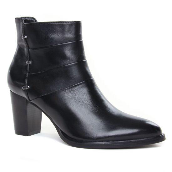 Bottines Et Boots Regarde Le Ciel Julia-07 Black, vue principale de la chaussure femme