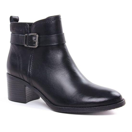 Bottines Et Boots Tamaris 25034 Black, vue principale de la chaussure femme