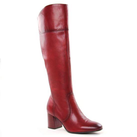 Bottes Tamaris 25515 Scarlet, vue principale de la chaussure femme
