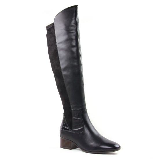 Bottes Tamaris 25518 Black, vue principale de la chaussure femme