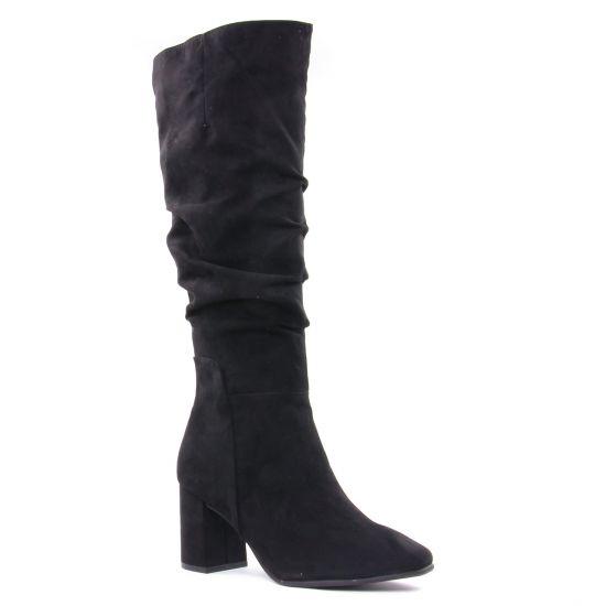 Bottes Marco Tozzi 25511 Black, vue principale de la chaussure femme