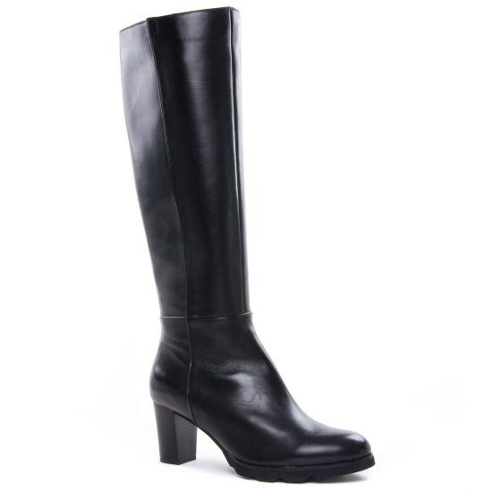 Bottes Regarde Le Ciel Patricia-30 Black, vue principale de la chaussure femme