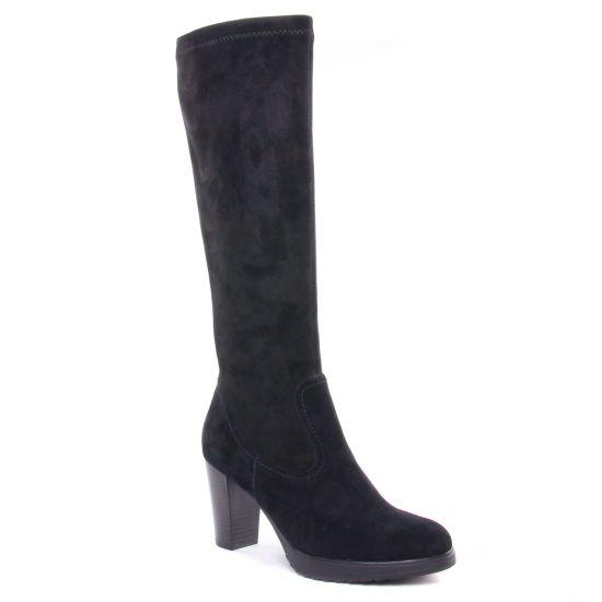 Bottes Emilie Karston Vaxon Noir, vue principale de la chaussure femme