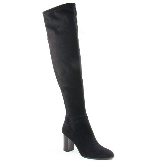 Bottes Tamaris 25554 Black, vue principale de la chaussure femme